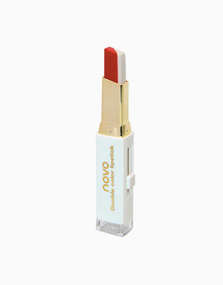 Two Tone Lip Bar by Novo Cosmetics | #4 Red / White