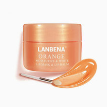 Lanbena orange lip scrub