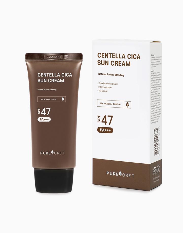 Centella Cica Sun Cream SPF 47 PA+++ by Pureforet