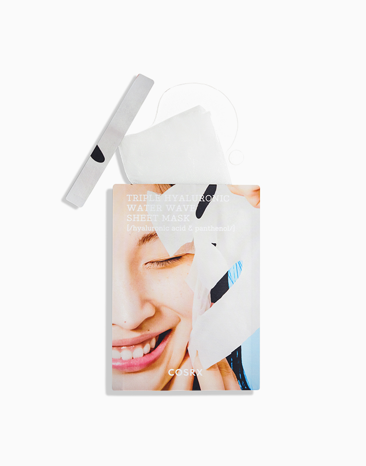 Triple Hyaluronic Water Wave Sheet Mask by COSRX