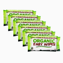 Organic baby wipes 80s %28pack of 6%29