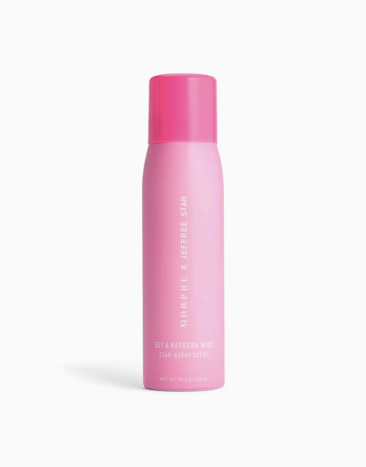 Morphe x Jeffree Star Set & Refresh Continuous Setting Mist Spray by Morphe