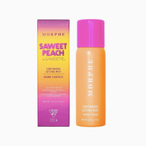 Morphe mini continuous setting mist saweet peach size