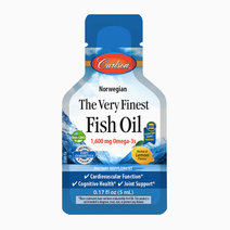 The Very Finest Fish Oil, Lemon Flavor Packet (5 ml) by Carlson