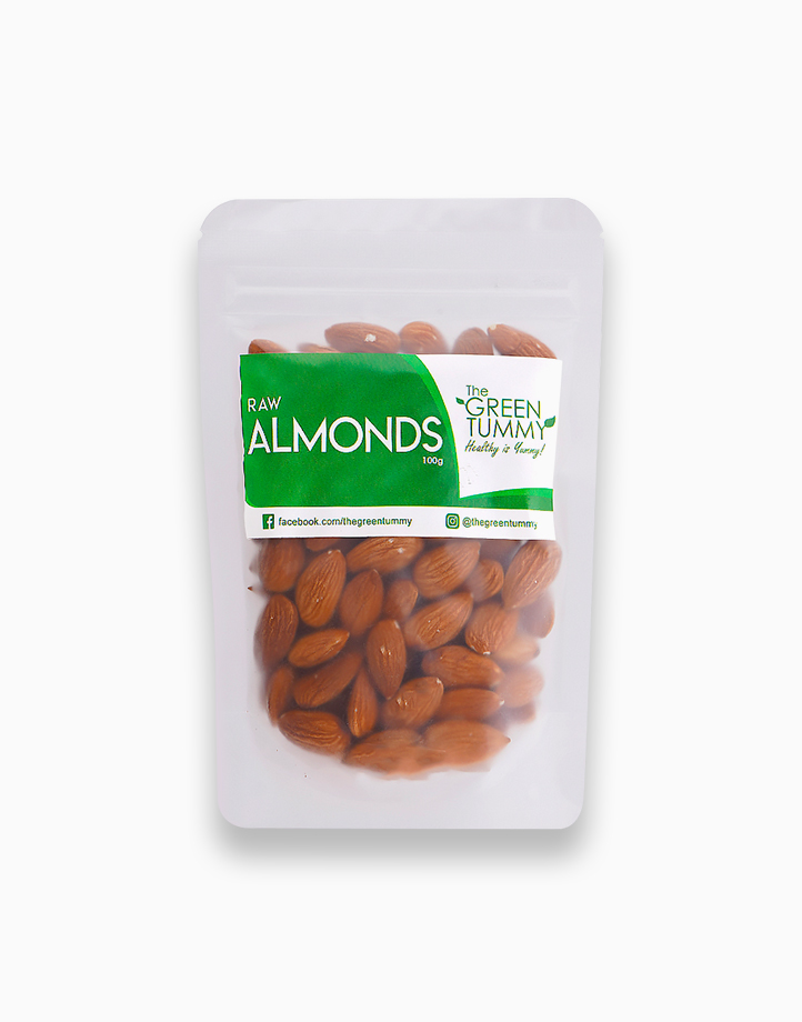 Raw Almonds (100g) by The Green Tummy