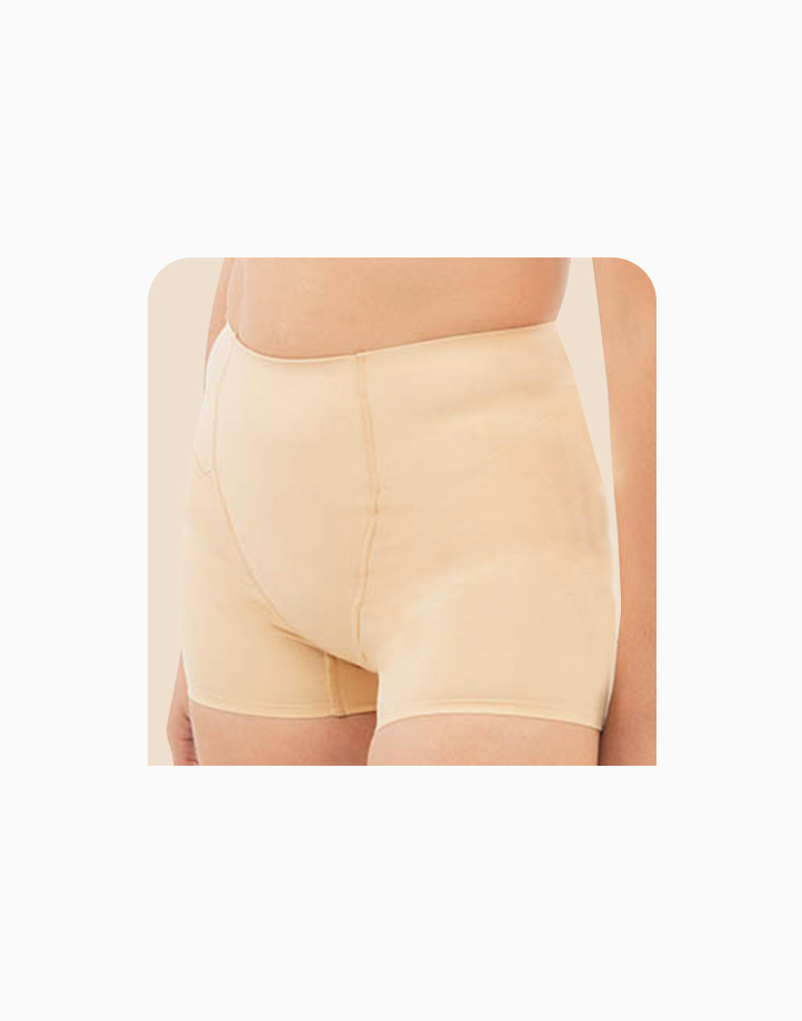 Booty Trainer Butt & Hip Compression Shorts in Nude by Jellyfit |