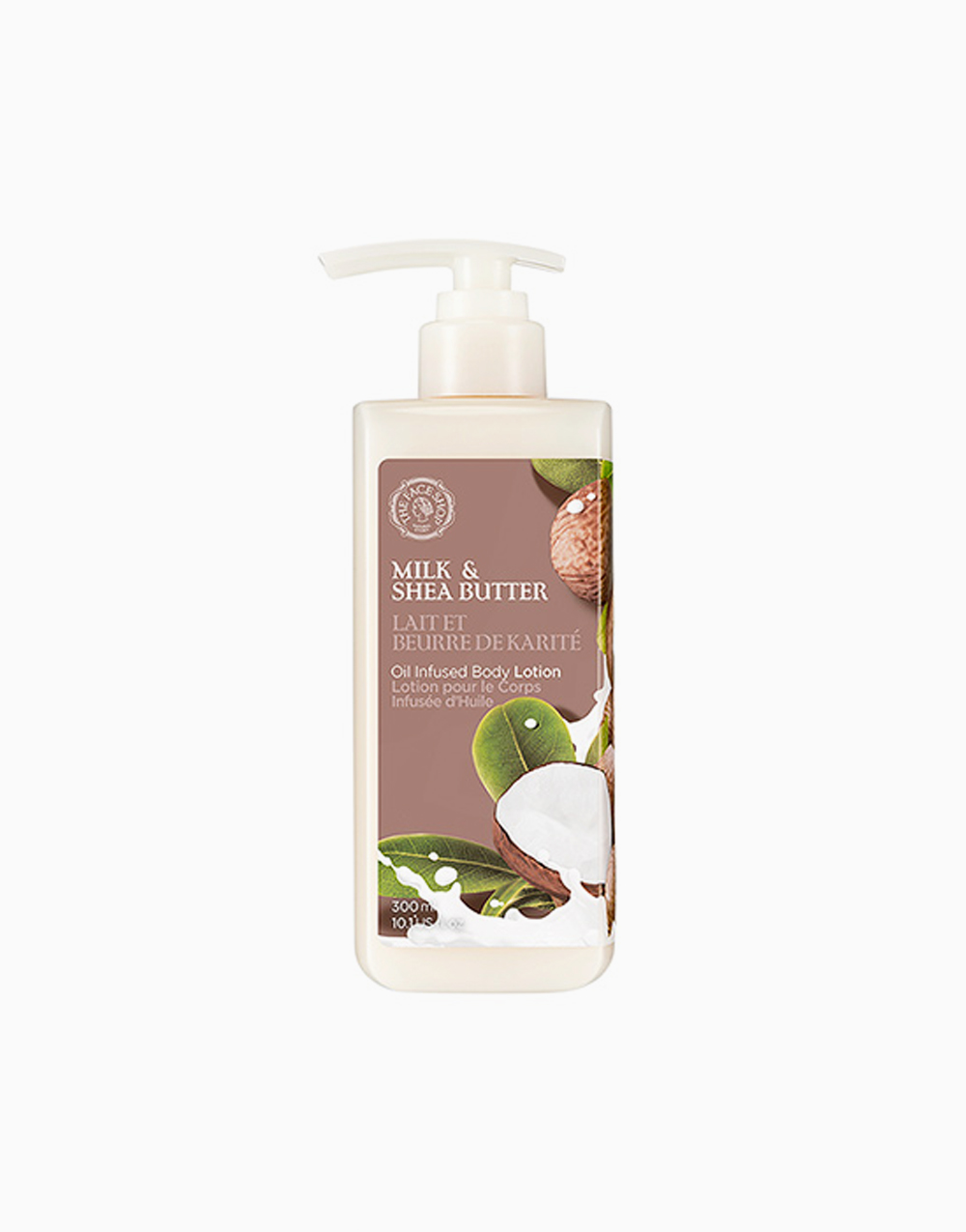 Milk & Shea Butter Oil Infused Body Lotion by The Face Shop