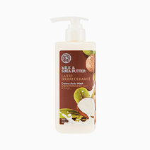 The face shop milk and shea butter creamy body wash