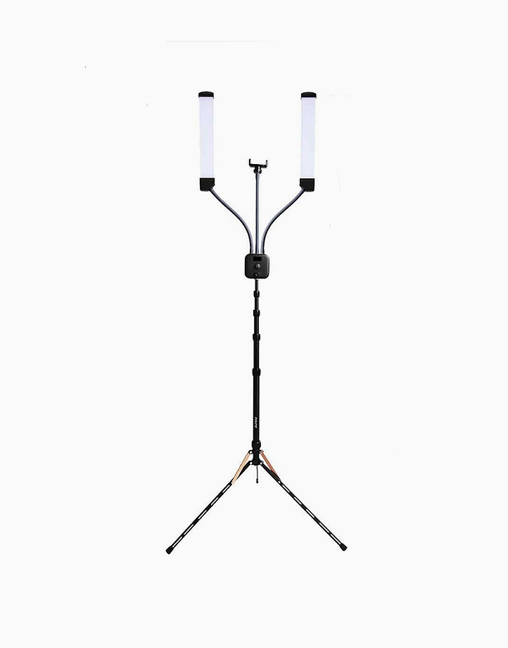 2-Tube Lights With Stand And Phone Holder by PRO STUDIO Beauty Exclusives