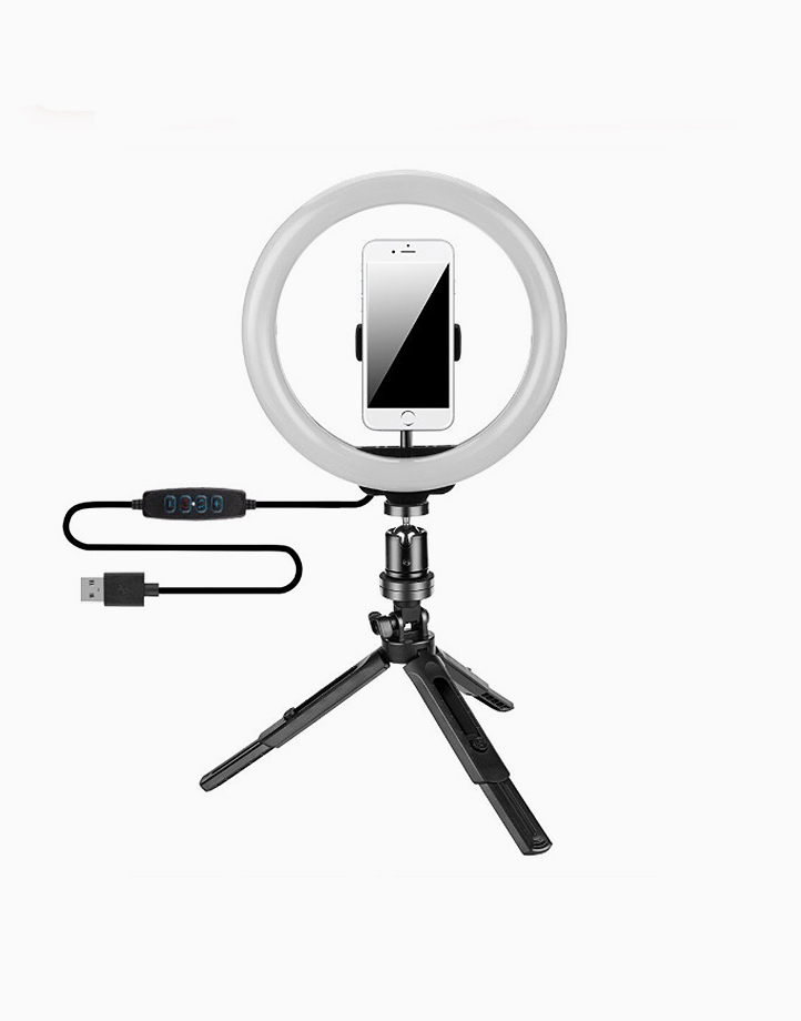Led Ring Light With Tripod Stand and Phone Holder by PRO STUDIO Beauty Exclusives