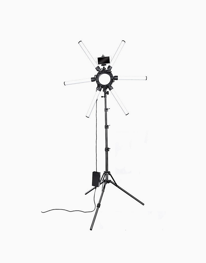 6-tube Stellar Lights With Stand and Cellphone Holder by PRO STUDIO Beauty Exclusives