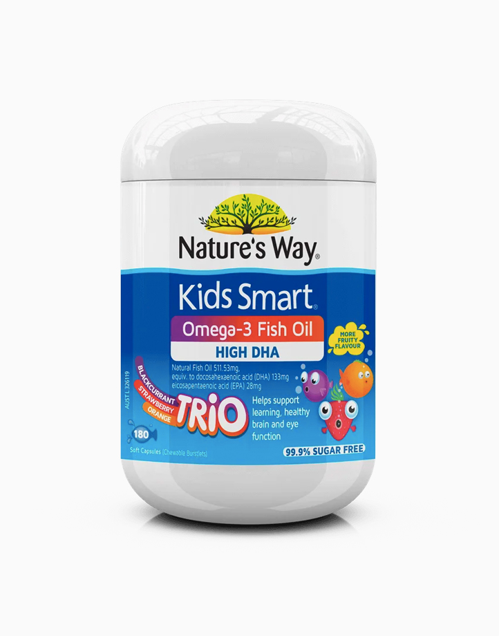 Kids Smart Omega-3 Fish Oil Trio (180s) by Nature's Way