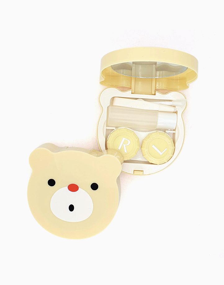 Bear Contact Lens Case by PRO STUDIO Beauty Exclusives | Yellow