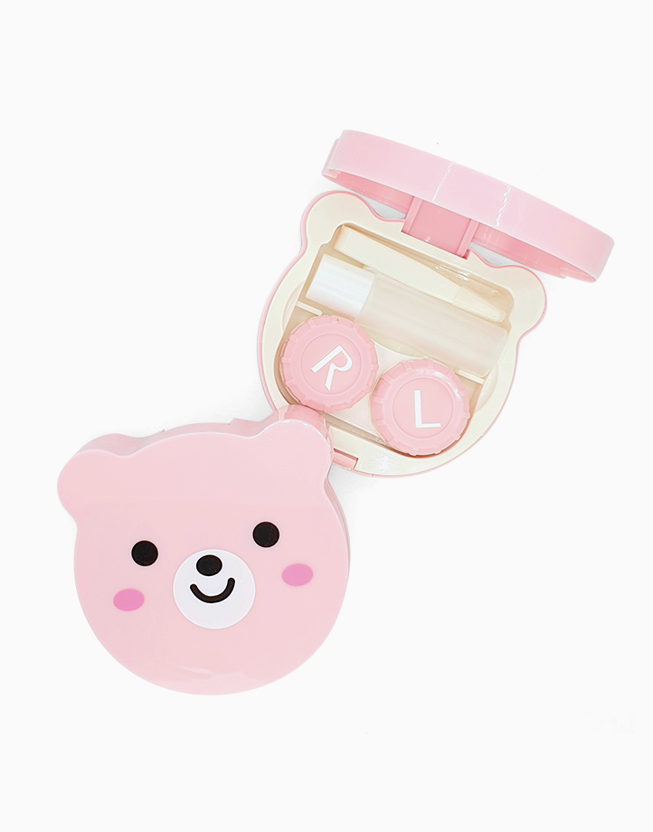 Bear Contact Lens Case by PRO STUDIO Beauty Exclusives | Pink