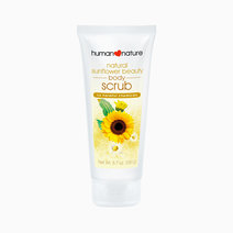 Natural sunflower beauty body scrub 190g