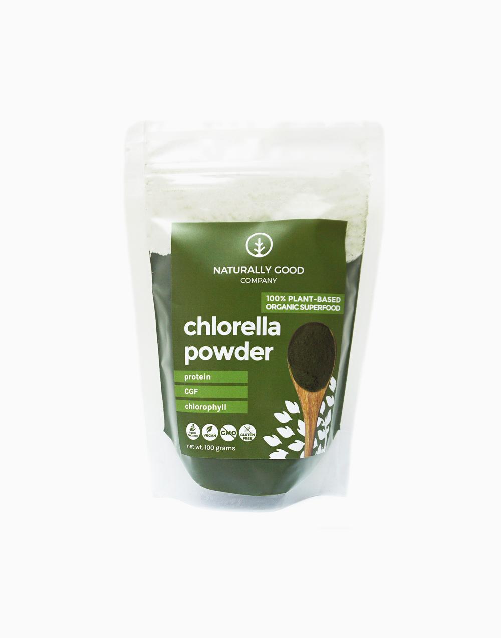 Organic Chlorella Powder (100g) by Naturally Good Company