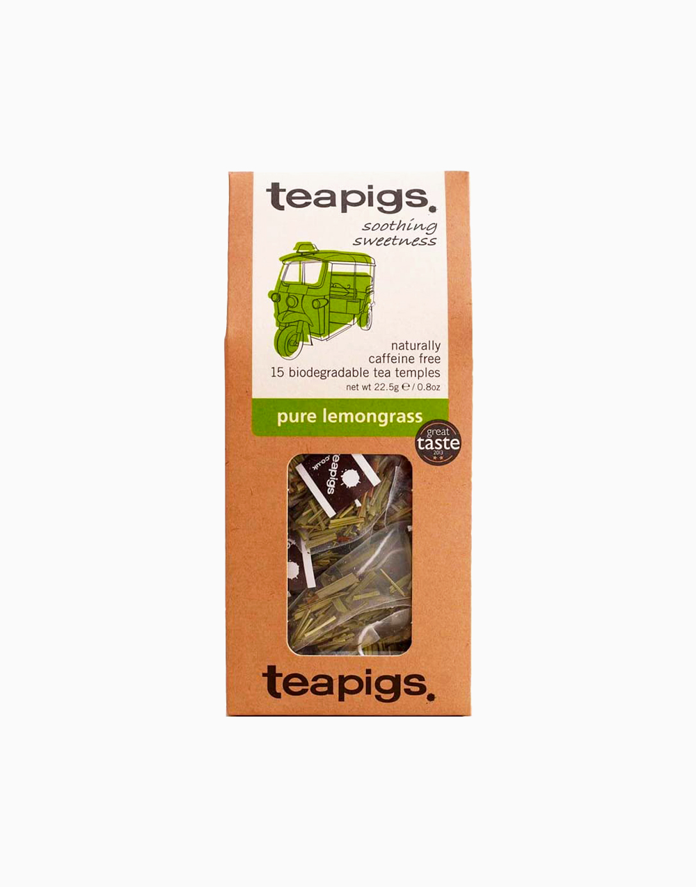 Pure Lemongrass Tea by Teapigs