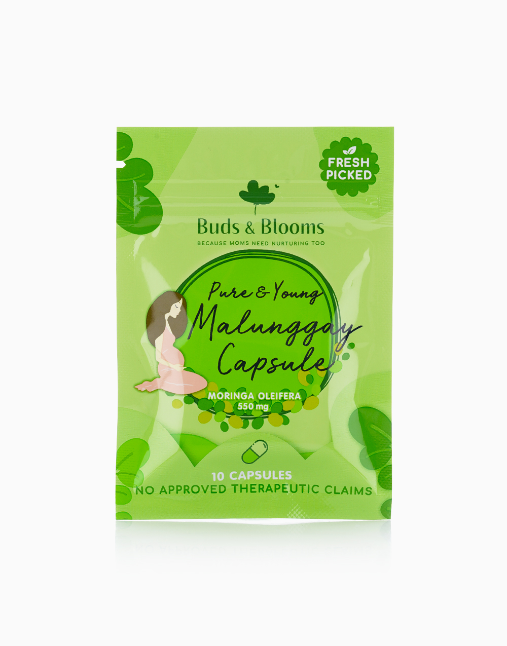 Buds & Blooms Pure & Young Malunggay (10 Capsules) by Buds & Blooms
