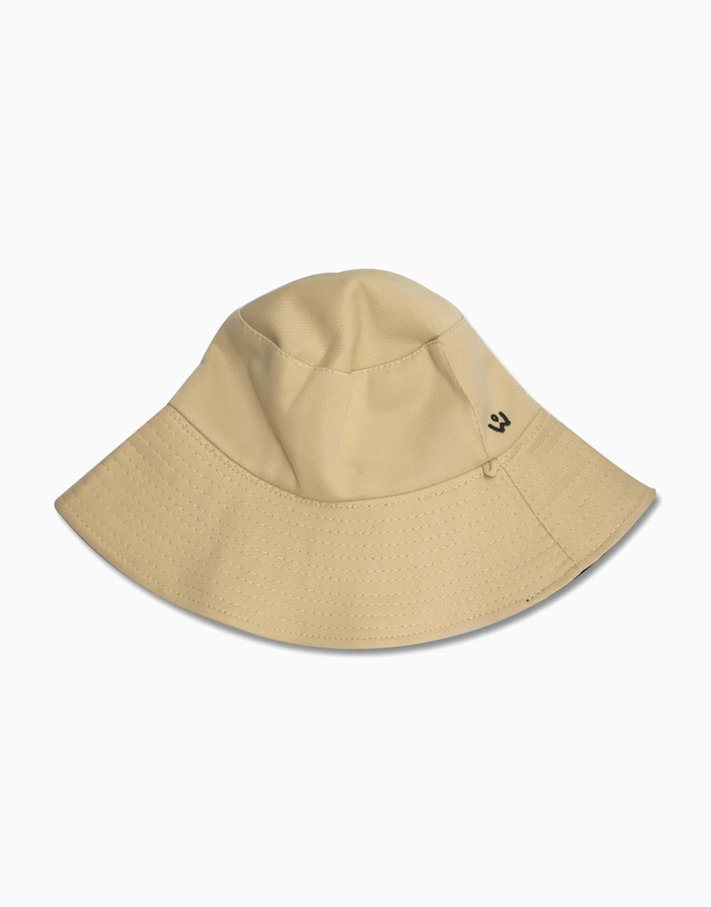 Reversible Bucket Hat by Wanderskye | Black/Cream