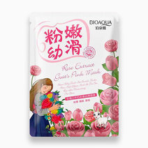 1 rose extract goat s pink mask