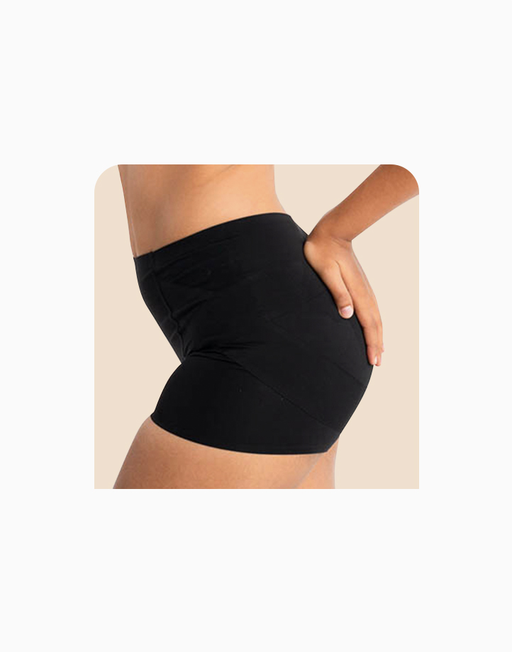 Booty Trainer Butt & Hip Compression Shorts in Black by Jellyfit |