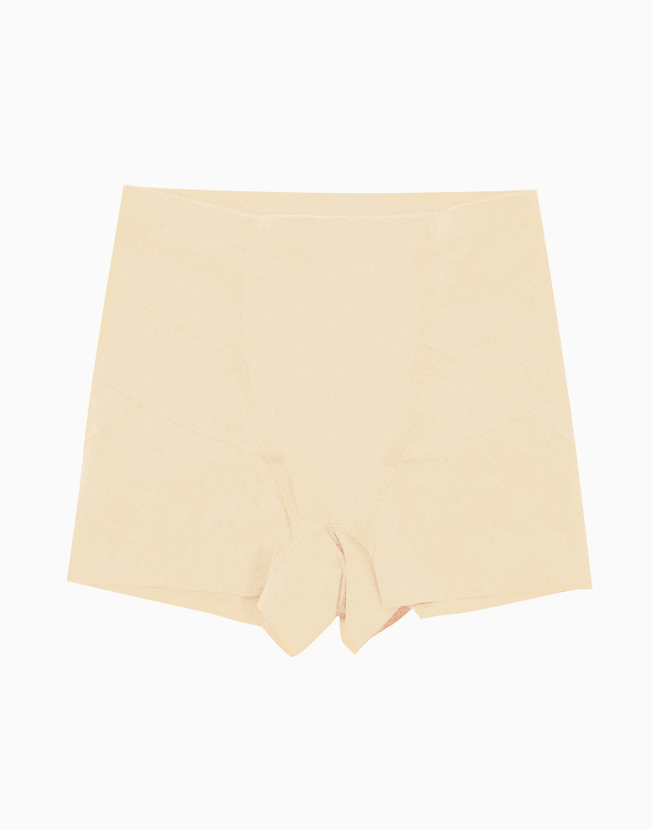 Booty Trainer Butt & Hip Compression Shorts in Nude by Jellyfit | Large