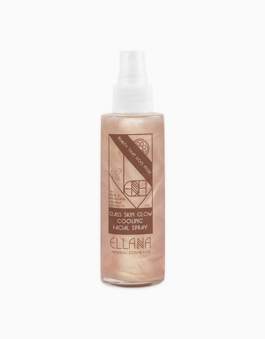 Glass Skin Glow Cooling Facial Spray by Ellana Mineral Cosmetics