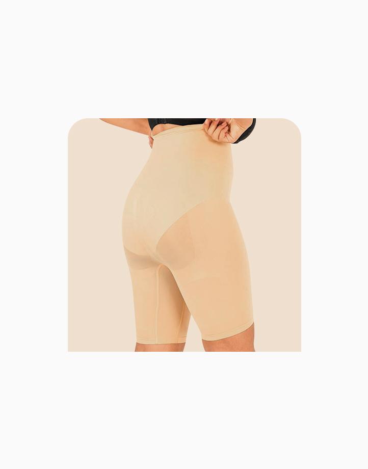 Super Shaper Thigh Bodysuit in Beige by Jellyfit  