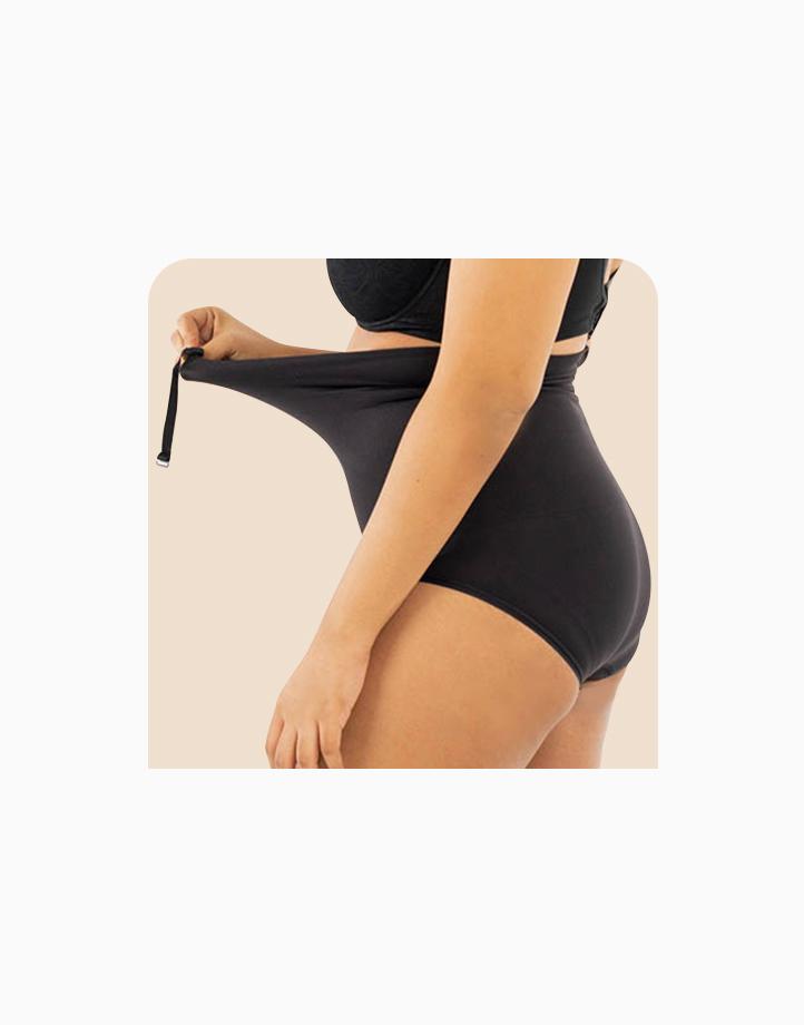 Super Shaper Bikini Bodysuit in Black by Jellyfit |