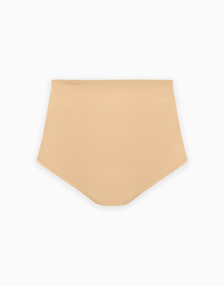 Super Shaper Bikini Bodysuit in Beige by Jellyfit   Large