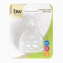 BW Peristaltic Wideneck Teats (206) by BabyWorld PH