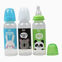 BW Feeding Bottle 8oz Round 3's (107-3) by BabyWorld PH