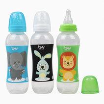 BW Feeding Bottles 12oz 3's (032-3) by BabyWorld PH