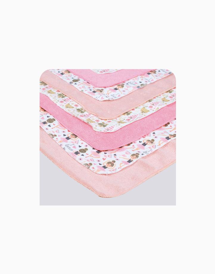 Wash Cloth 8's (6036) by BabyWorld PH | Pink