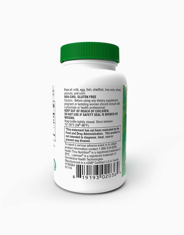 Lutein with Zeaxanthin (60 Softgels) by Health Thru Nutrition