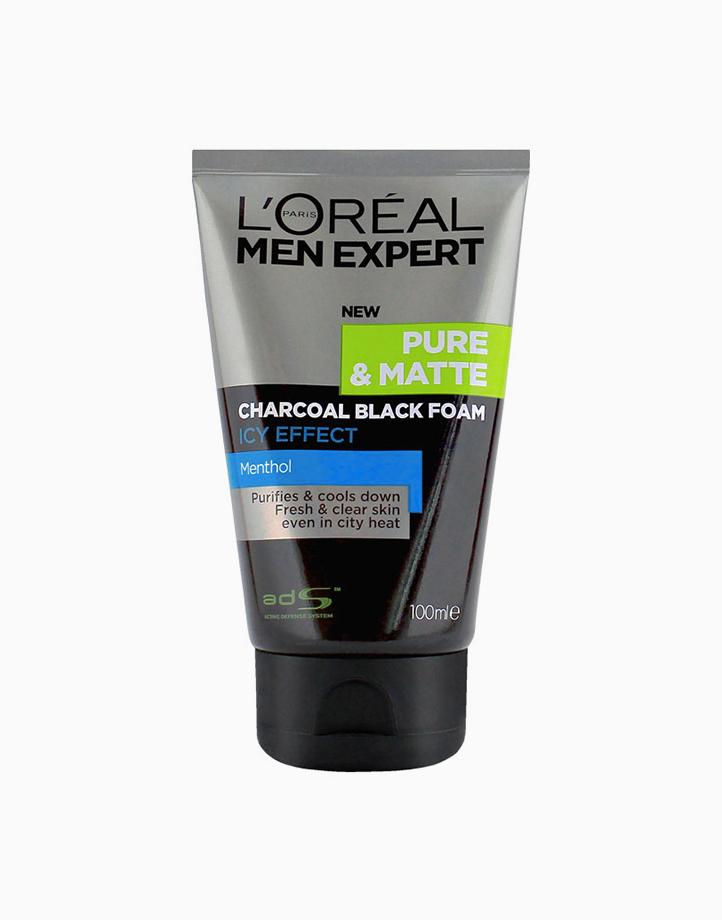 Men Expert Pure & Matte Charcoal Black Foam by L'Oréal Paris