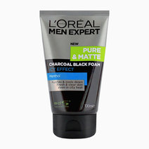 Men Expert Pure & Matte Charcoal Black Foam by L'Oréal Paris