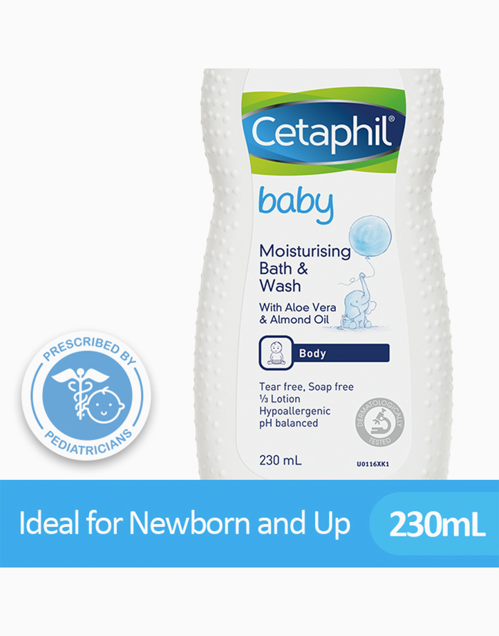 Cetaphil Baby Ultra Moisturising Bath Wash (230ml) by Cetaphil Baby