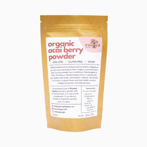 Rooted organics organic acai berry powder 150g