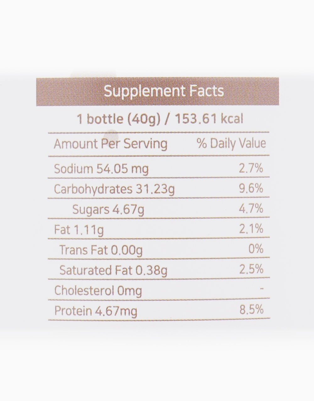 Daily Meal Health Drink in Cereal Mix by Biopolytech Korea
