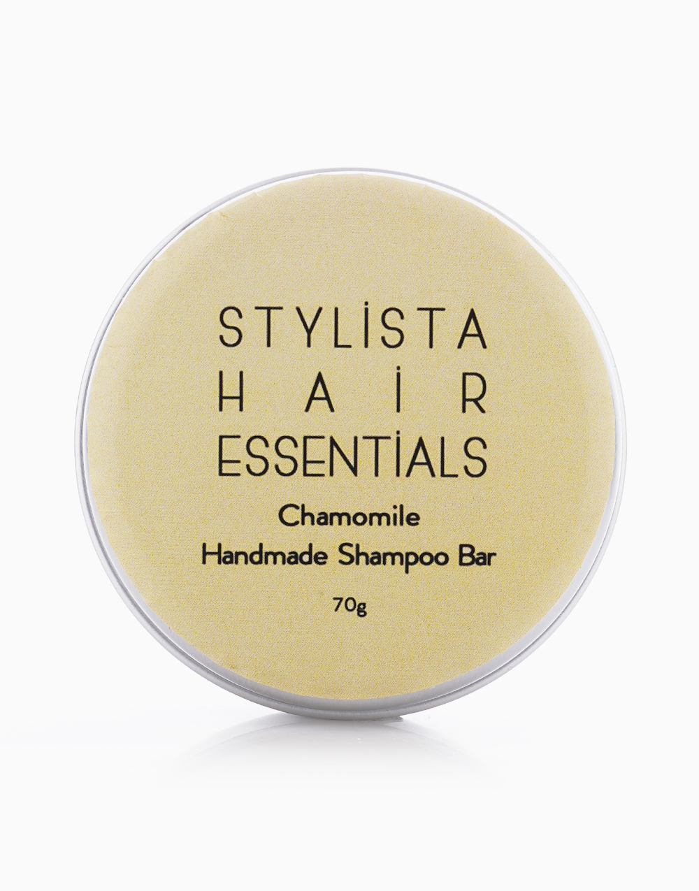 Handmade Natural Shampoo Bar in Chamomile by Stylista Hair Essentials