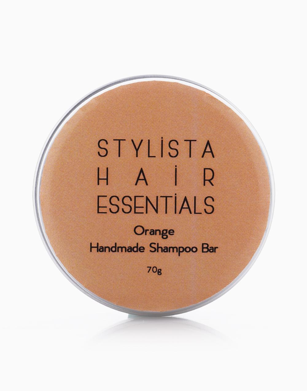 Handmade Natural Shampoo Bar in Orange by Stylista Hair Essentials