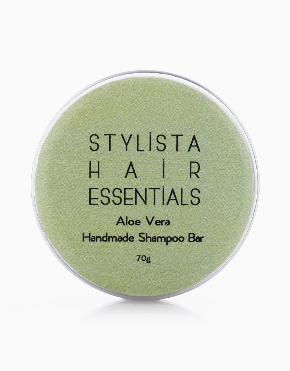 Handmade Natural Shampoo Bar in Aloe Vera by Stylista Hair Essentials