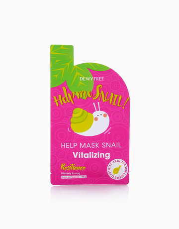 Snail Vitalising Mask Sheet by Dewytree