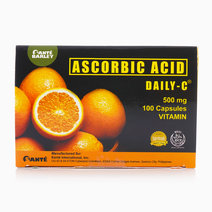 Daily-C Ascorbic Acid (500mg, 100s) by Santé Barley