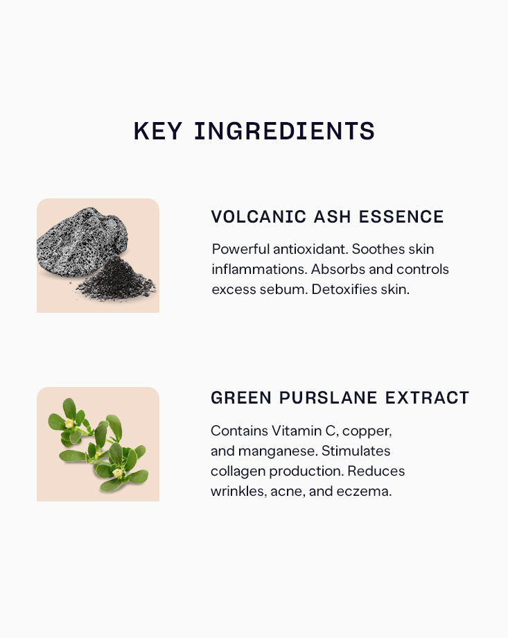 10273 pure skin volcanic ash essence mask sheet sir 1