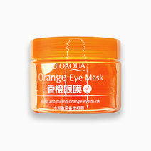 1 orange eye mask
