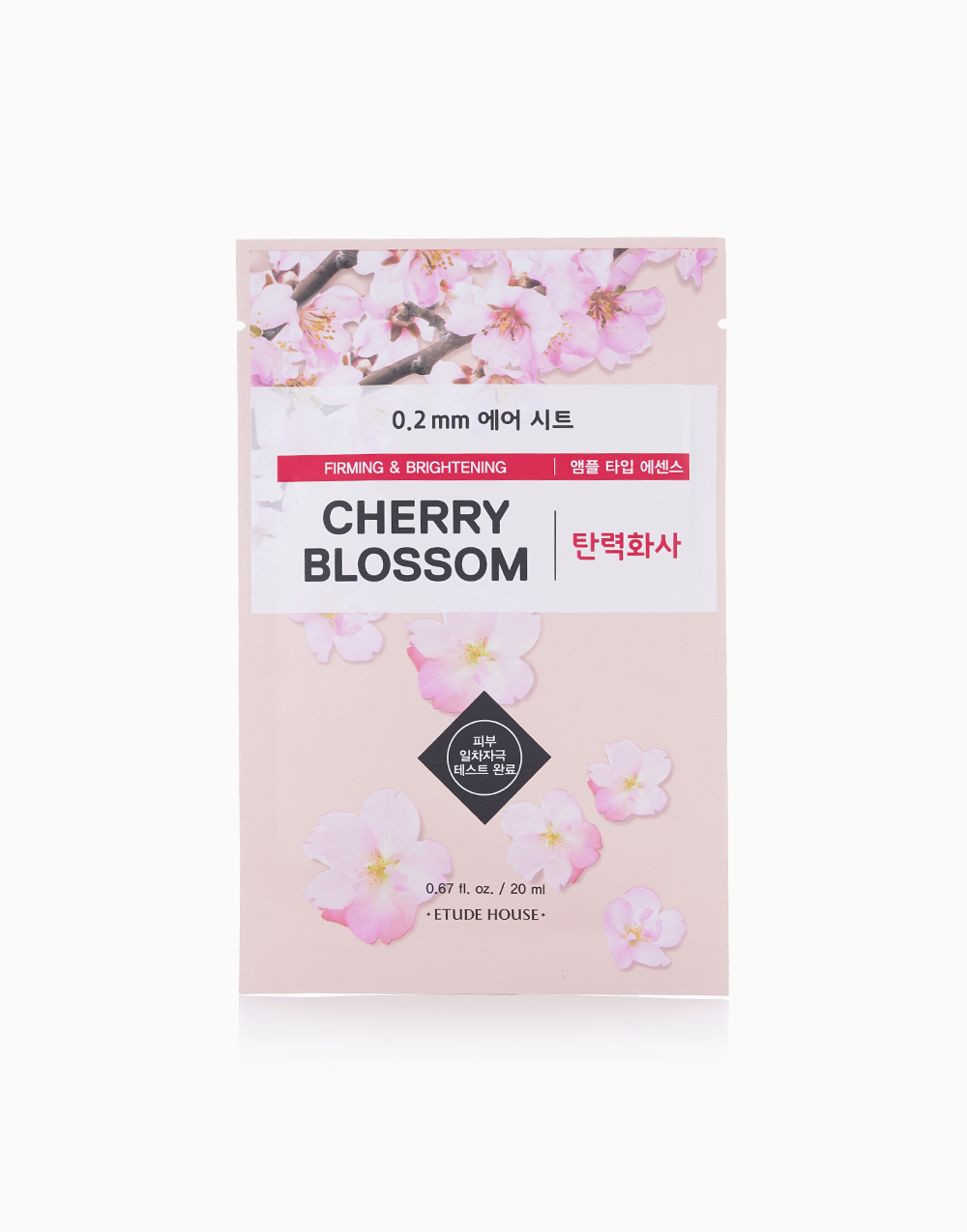 Cherry Blossom Therapy Air Mask (20ml) by Etude House