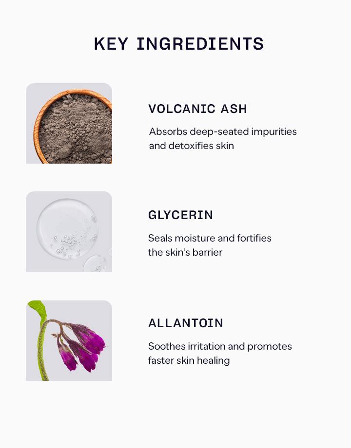 3 pure skin volcanic ash cleansing foam