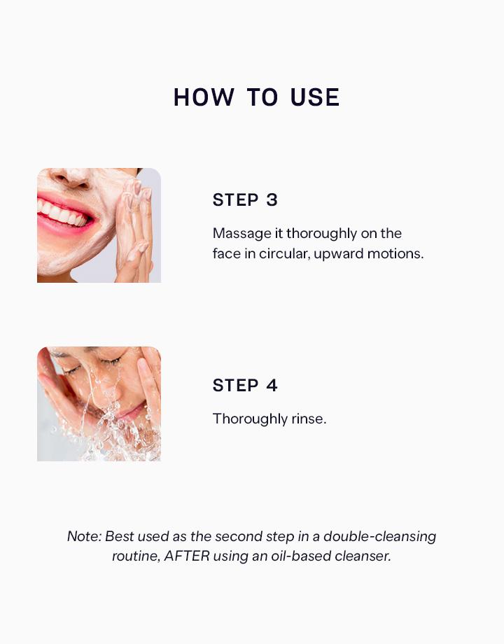 5 pure skin volcanic ash cleansing foam